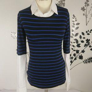Bailey44 long sleeve blouse size S
